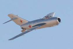 Полеты на МиГ-15
