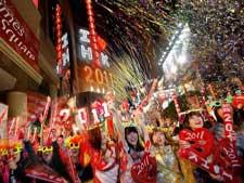 Как отметили Новый 2011 год и Рождество в разных странах