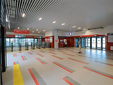 Новый терминал «Аэроэкспресс»