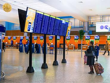 Зимнее расписание в аэропортах Москвы