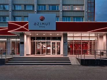 Отель AZIMUT
