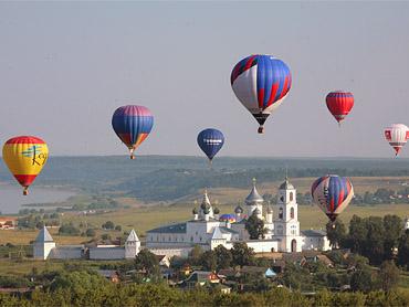 Фестиваль воздухоплавателей в Ярославской области