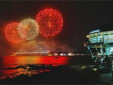 Фестиваль огней, Пусан, Корея