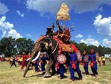 Фестиваль слонов, Сурин, Таиланд