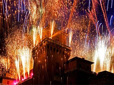 Новый год в Италии (Феррара)