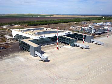 Новый аэропорт Саратова