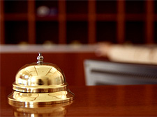 Гостиница, звонок