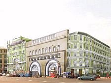 Здание отеля Кемпински Никольская