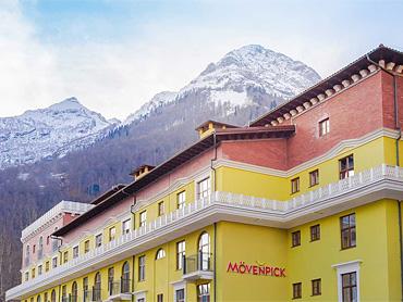 Отель Movenpick на Красной Поляне