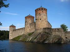 Крепость Олавинлинна, Савонлинна, Финляндия