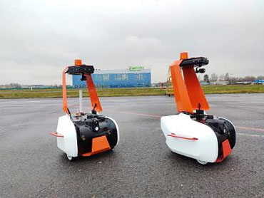 Роботы-охранники в Жуковском