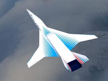 Сверхзвуковой пассажирский самолет