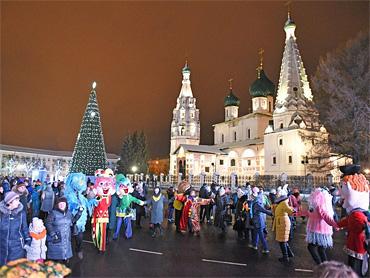 Новый год в Ярославле