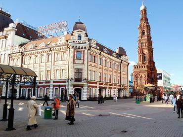 Экскурсия по Казани, ул. Баумана